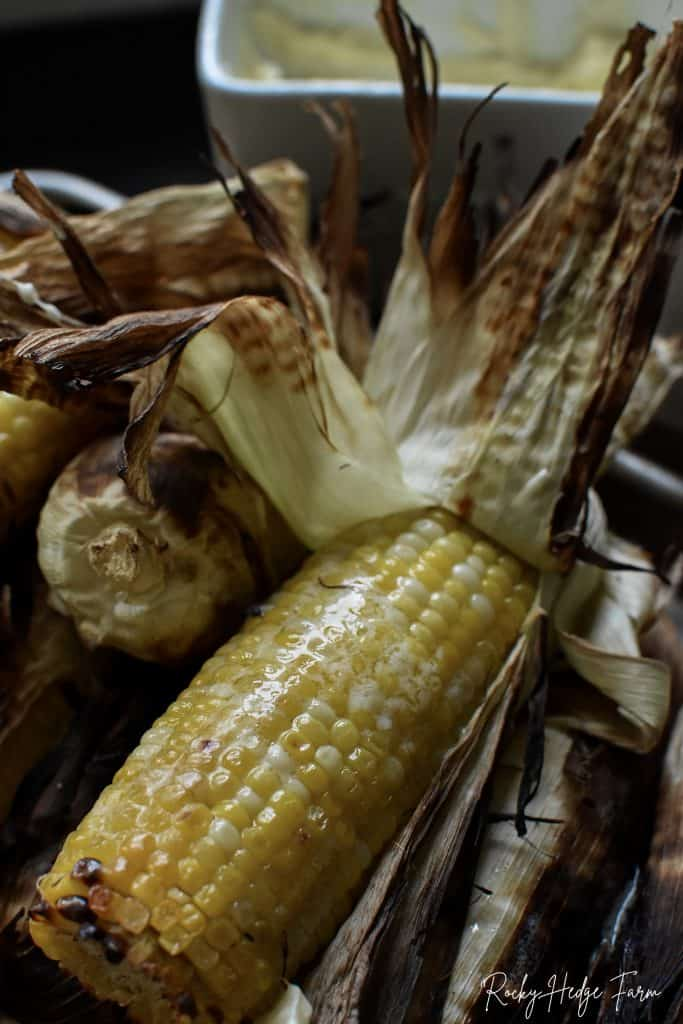How to Grill Cob Corn